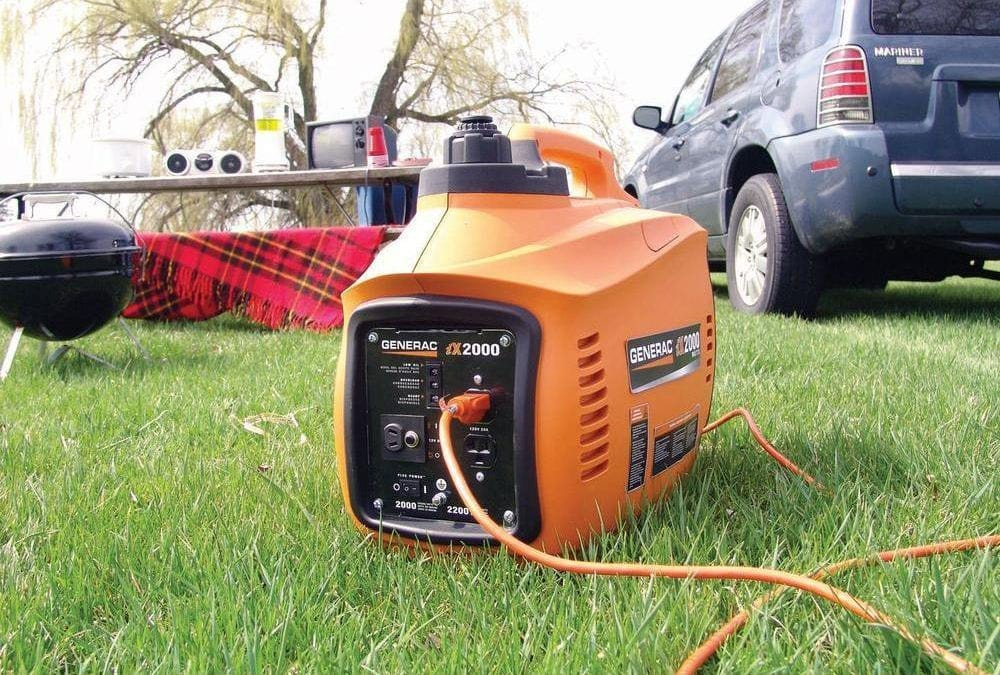 Power Generators Generac 6719 IX Series 2000 Portable Inverter Generator